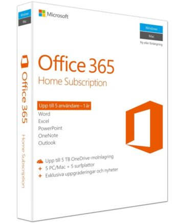 Microsoft Office 365 Home - 1 år