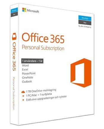 Microsoft Office 365 Personal Förpackning
