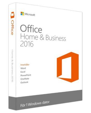 Microsoft Office Home & Business 2016 Förpackning