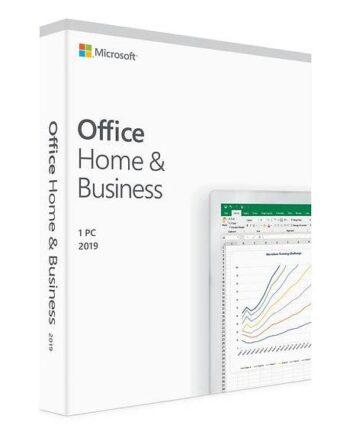 Microsoft Office Home & Business 2019 Förpackning