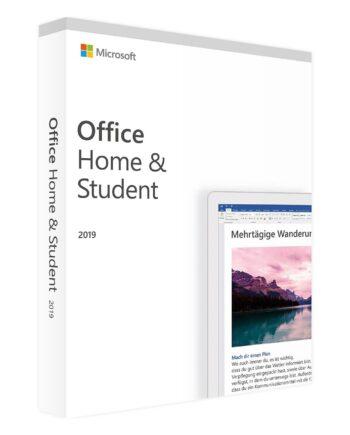 Microsoft Office Home & Student 2019 Förpackning