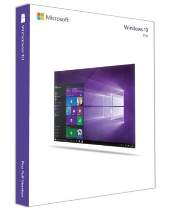 Microsoft Windows 10 Pro Förpackning