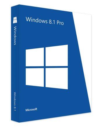 Microsoft Windows 8-1 Pro Förpackning
