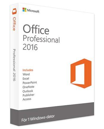 Microsoft-office-professional-2016 förpackning